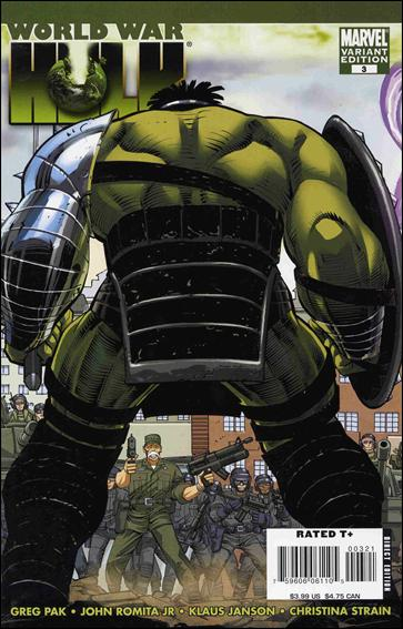 World War Hulk 3-B by Marvel
