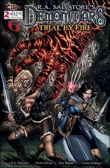 R.A. Salvatore's DemonWars: Trial by Fire 2-A by CrossGen