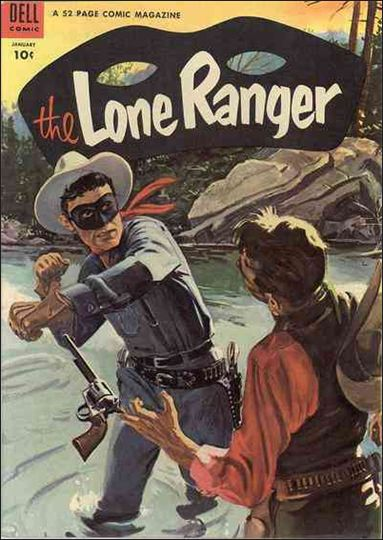 Lone Ranger (1948) 67-A by Dell
