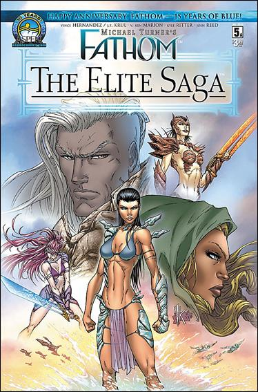 Michael Turner's Fathom: The Elite Saga 5-A by Aspen