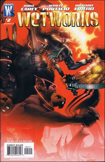 Wetworks (2006) 2-A by WildStorm