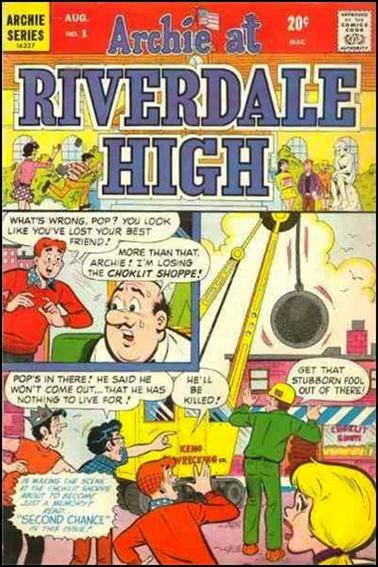 Archie at Riverdale High 1-A by Archie