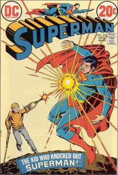 Superman (1939) 259-A by DC