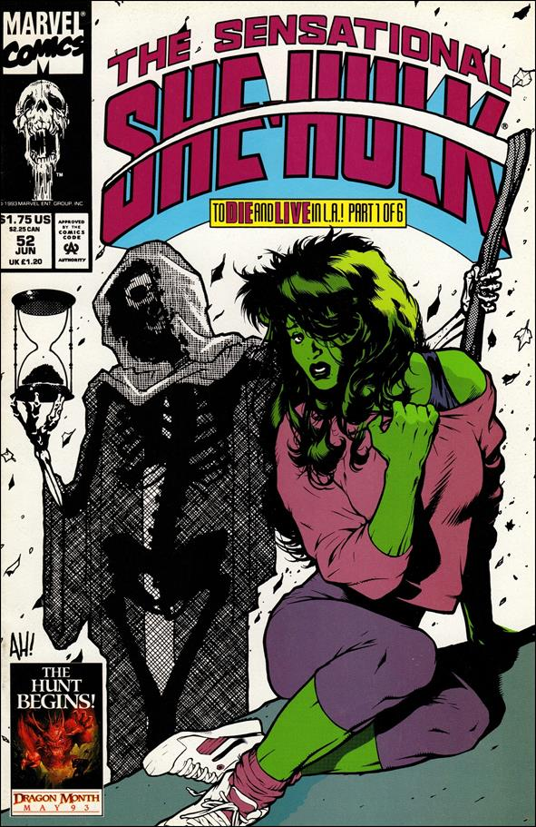 Sensational She-Hulk 52-A by Marvel
