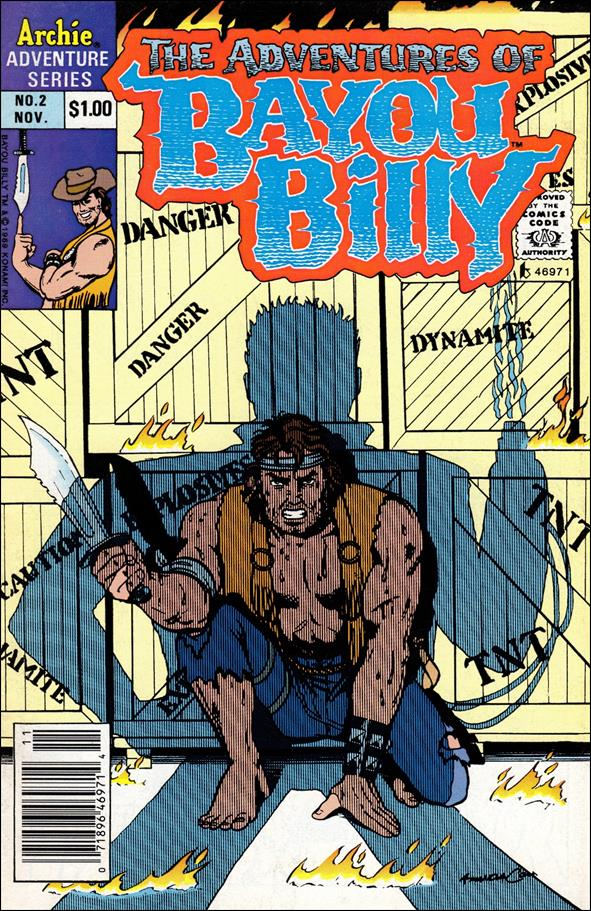 Adventures of Bayou Billy 2-A by Archie
