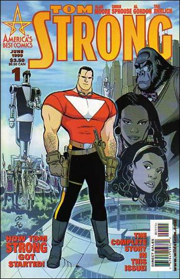 Tom Strong 1-A by America's Best Comics