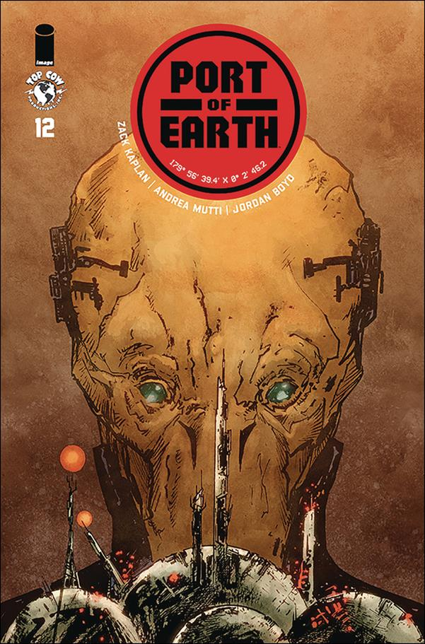 Port of Earth 12-A by Top Cow