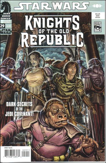 Star Wars: Knights of the Old Republic 29-A by Dark Horse