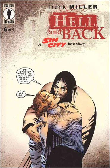 Sin City: Hell and Back 6-A by Dark Horse