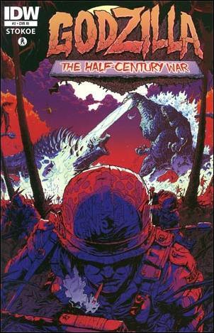 Godzilla: Half Century War  2-B by IDW