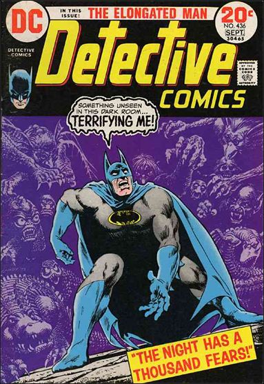 Detective Comics (1937) 436-A by DC