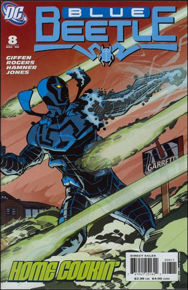Blue Beetle (2006) 8-A by DC