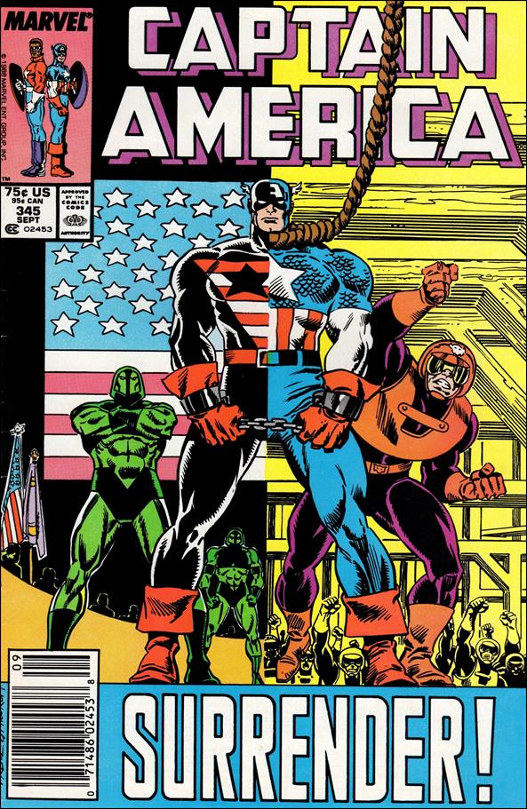 Captain America (1968) 345-A by Marvel