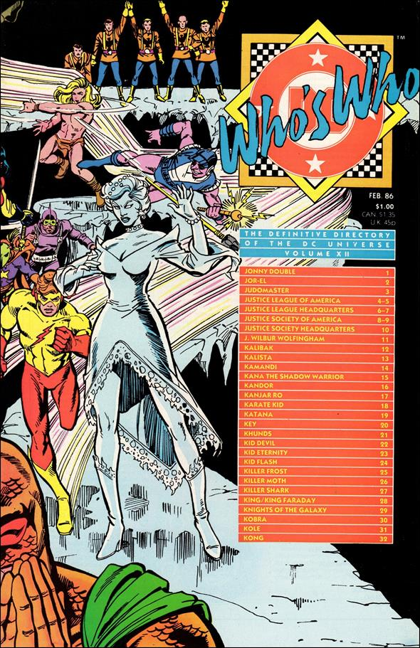 Who's Who: The Definitive Directory of the DC Universe 12-A by DC