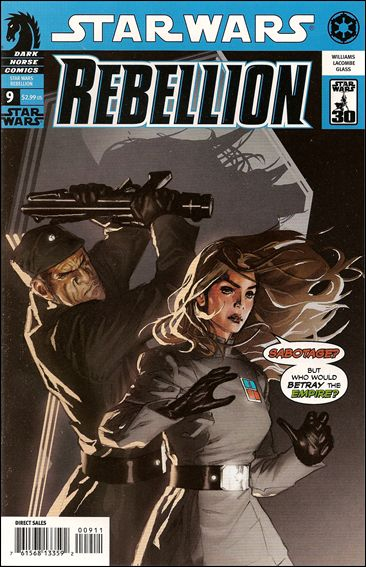 Star Wars: Rebellion 9-A by Dark Horse