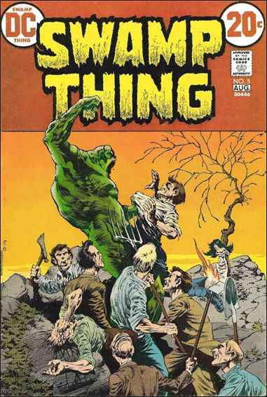 Swamp Thing (1972) 5-A by DC