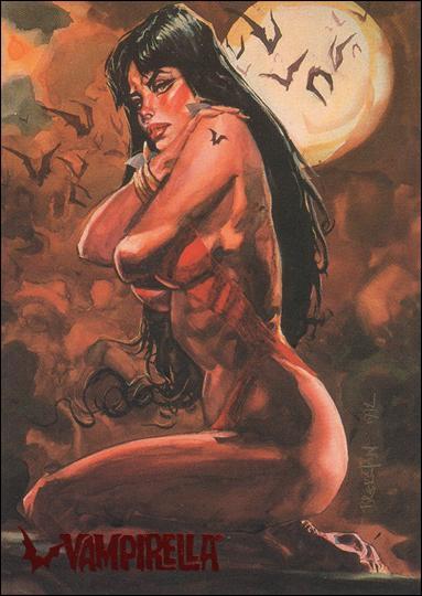 Visions of Vampirella 74-A by Topps