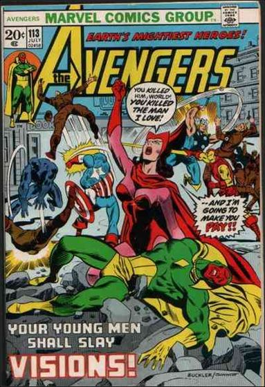 Avengers (1963) 113-A by Marvel