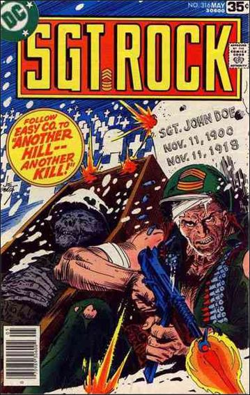 Sgt. Rock (1977) 316-A by DC