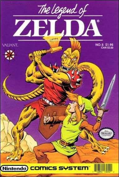 The Legend of Zelda (1990) 5-A by Valiant