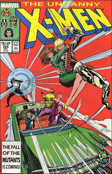 Uncanny X-Men (1981) 224-A by Marvel