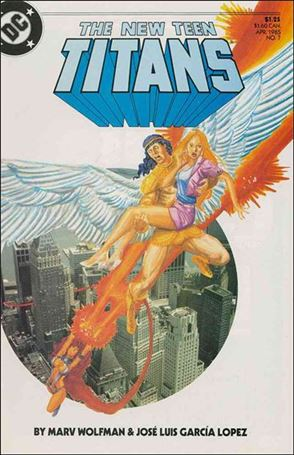 New Teen Titans (1984) 7-A