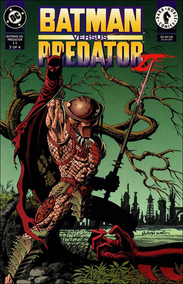 Batman Versus Predator II: Bloodmatch 2-A by Dark Horse