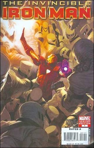 Invincible Iron Man (2008) 1-D by Marvel