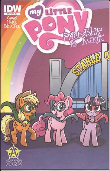 My Little Pony: Friendship is Magic 11-H by IDW