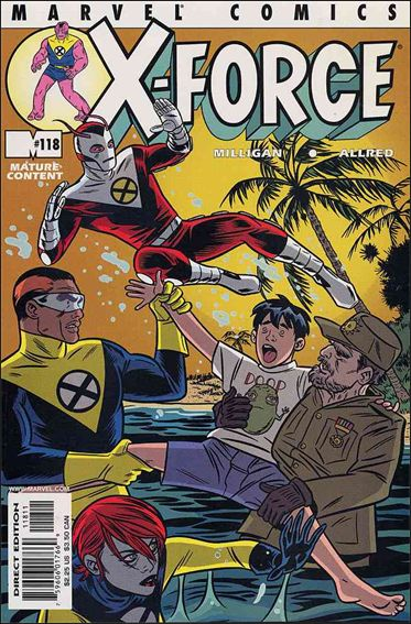 X-Force (1991) 118-A by Marvel