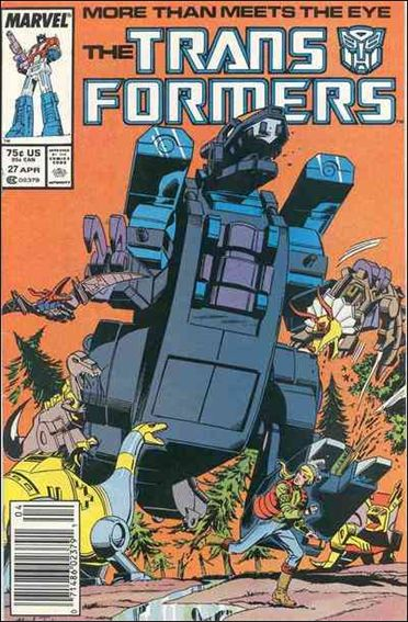 Transformers (1984) 27-A by Marvel