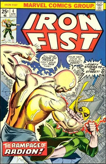 Iron Fist (1975) 4-A by Marvel