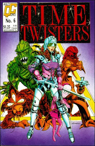 Time Twisters 6-A by Quality Comics