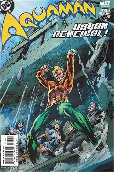 Aquaman (2003) 17-A by DC