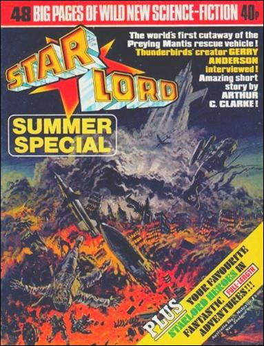 Starlord Summer Special 1-A by IPC