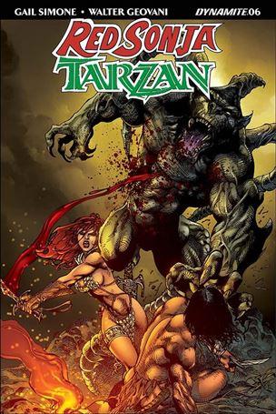 Red Sonja / Tarzan 6-D