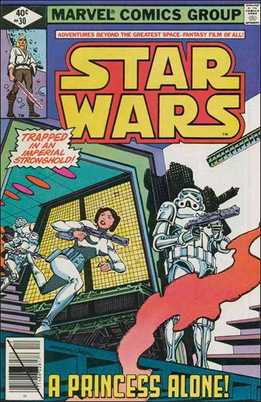 Star Wars (1977) 30-A by Marvel