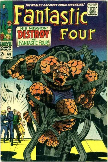 Fantastic Four (1961) 68-A by Marvel