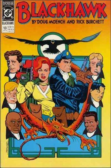 Blackhawk (1989)  13-A by DC