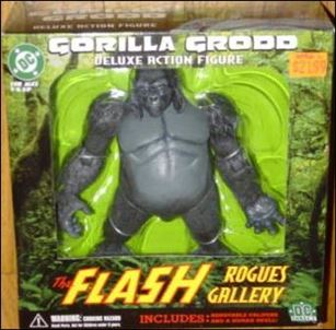 Flash Rogues Gallery Gorilla Grodd