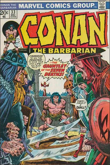 Conan the Barbarian (1970) 33-A by Marvel