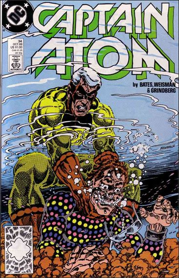 Captain Atom (1987) 34-A by DC