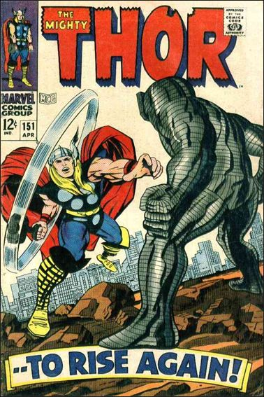 Thor (1966) 151-A by Marvel