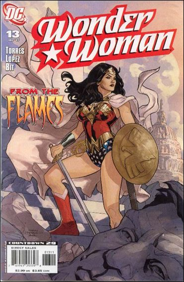 Wonder Woman (2006) 13-A by DC
