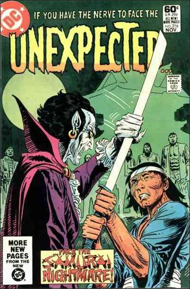 Unexpected (1968) 216-A by DC