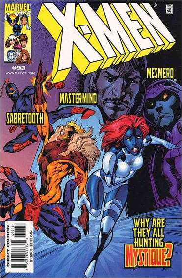 X-Men (1991) 93-A by Marvel