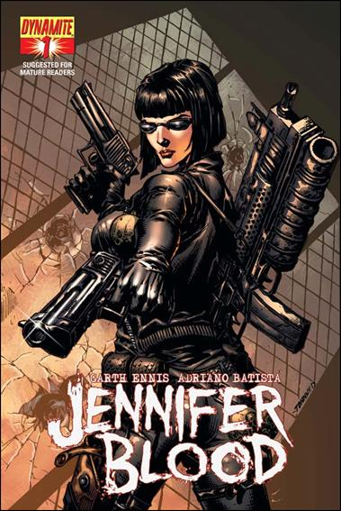Jennifer Blood 1-D by Dynamite Entertainment