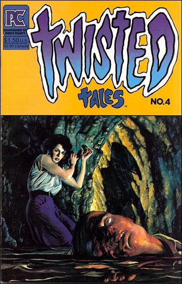 Twisted Tales (1982) 4-A by Pacific