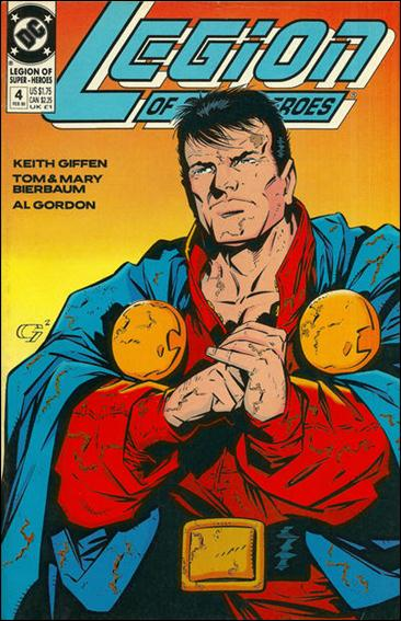Legion of Super-Heroes (1989) 4-A by DC
