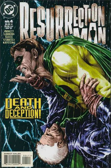 Resurrection Man (1997) 4-A by DC